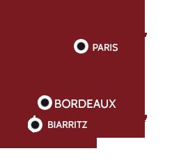 CETAB : bureau d'études et d'ingénierie du bâtiment, de l'infrastructure a BORDEAUX, BIARRTTZ et PARIS
