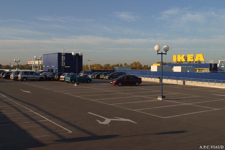Un Bureau Parking Ikea Bordeaux ...