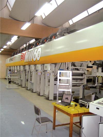 CETAB : Machine ROTOMEC, Intensité : 1050 Ampères par phase