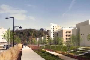 Projet Assainissment: Espaces Publics ZAC des Quais à Floirac (33)