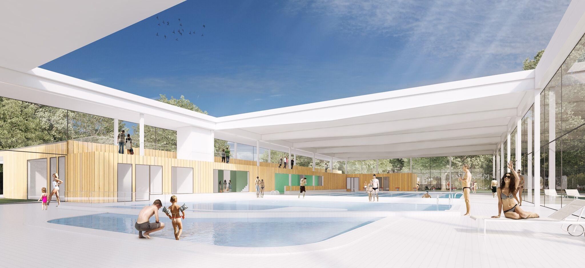 La piscine du Pinsan Eysines