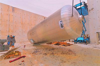 Ballon hydro-accumulation 2*60m3 - © ENB