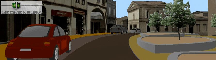 CETAB Réalise Sa Première Vidéo Et Maquette Numérique 3D Simulant Une Opération D'aménagement Avec Son Logiciel Dédié Infrastructure MENSURA