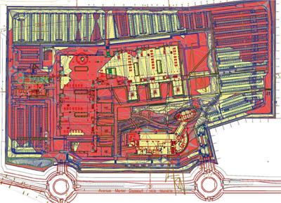 CETAB : Plan de terrassement déblais / remblais