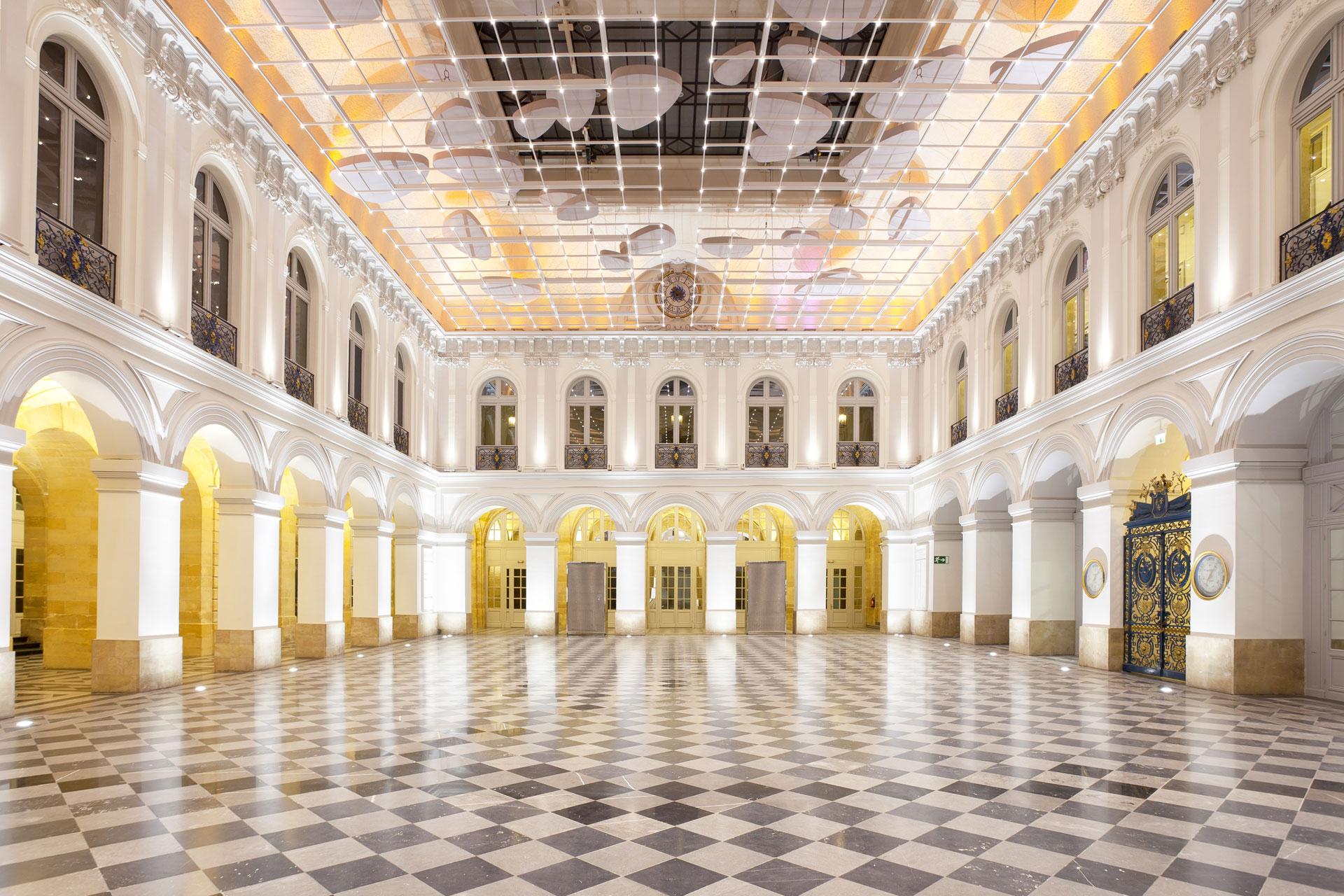Cci bordeaux r am nagement du 12 palais de la bourse cetab - Chambre de commerce bordeaux recrutement ...