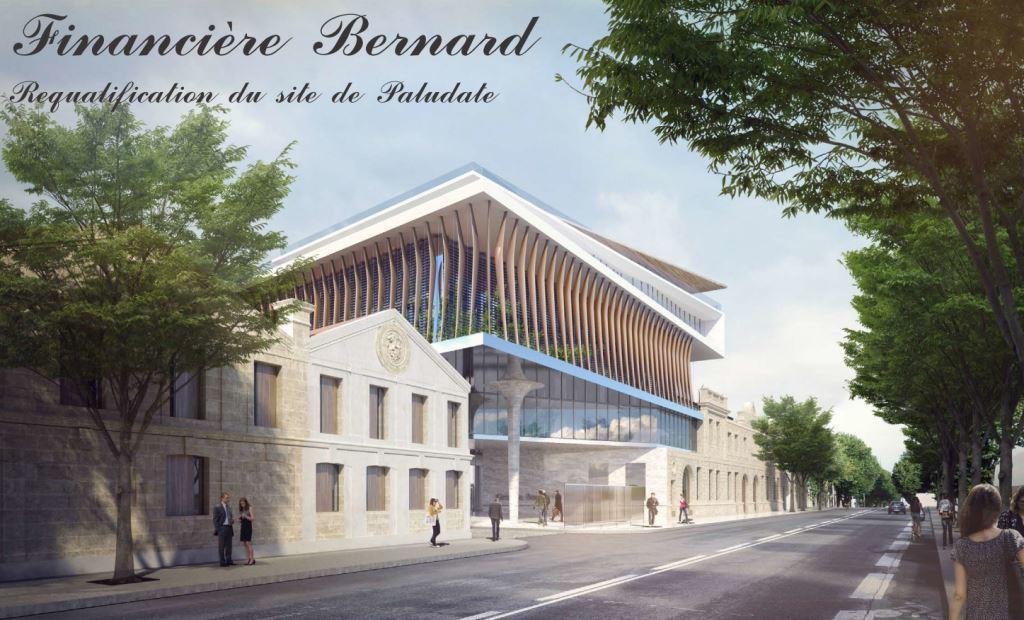 Siège Et Chais – Financière Bernard – Quai De Paludate