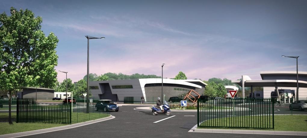 Construction Du 3ème Centre Administratif Et De Garages De La CUB Eysines / Le Taillan