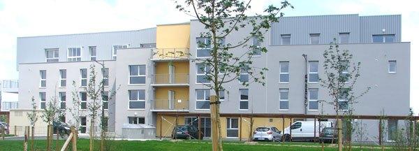 Bâtiment Intergénérationnel à Energie Positive Dans L'éco-quartier MONTGORGES Situé à POITIERS (86)